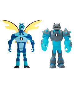 Mini-Figuras-Transformaveis---10-Cm---Ben-10---Insectoide-e-Choque-Rochoso---Sunny