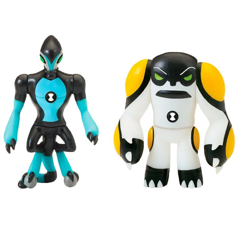Mini Figuras Transformaveis 10 Cm Ben 10 Xlr8 E Bola De