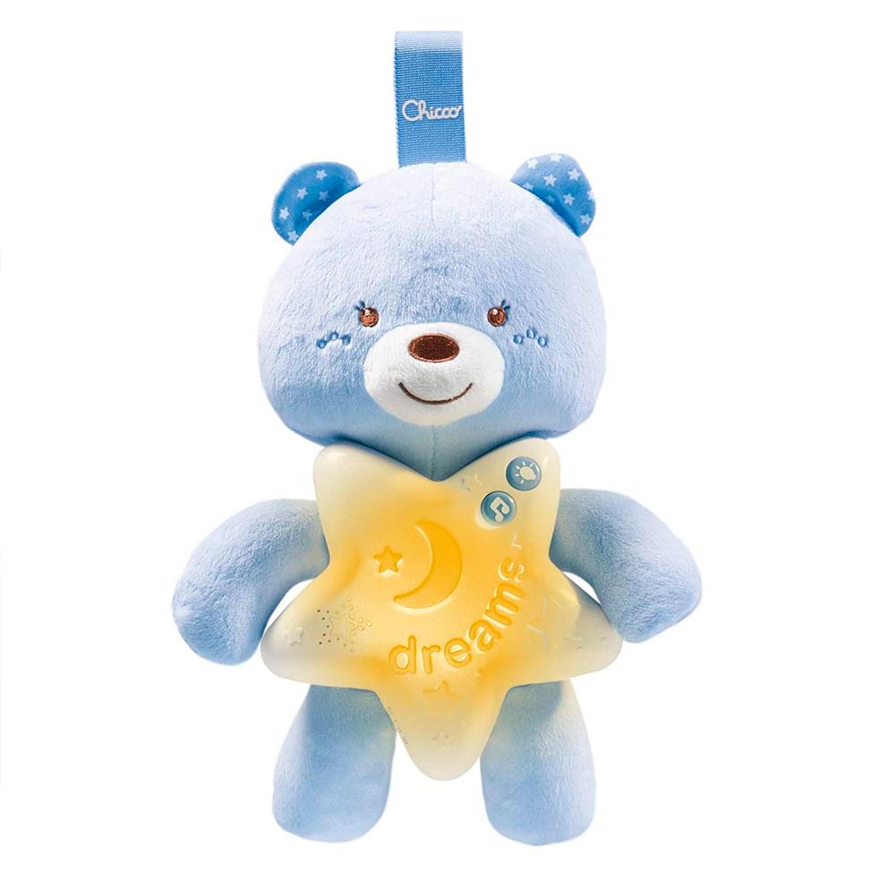Móbile - Ursinho Bons Sonhos - Azul - Chicco
