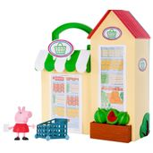 Playset-e-Mini-Figura---Peppa-Pig---Pequena-Mercearia---DTC