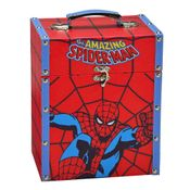 Porta-Treco-Decorativo---26-Cm---Disney---Marvel---The-Amazing-Spider-Man---Vermelho---Mabruk
