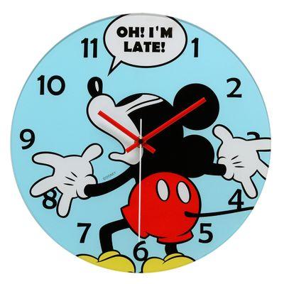 Relogio-de-Parede-Decorativo---Disney---Mickey-Mouse---Azul---Mabruk