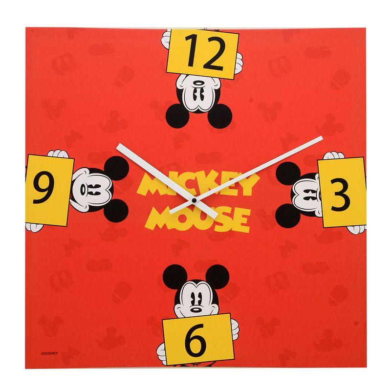 9472de28da2 Relógio de Parede Decorativo - Disney - Mickey Mouse - Vermelho - Mabruk -  Ri Happy Brinquedos