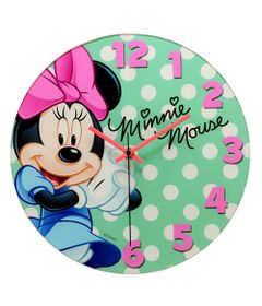Relogio-de-Parede-Decorativo---Disney---Minnie-Mouse---Bow-Tiful---Mabruk