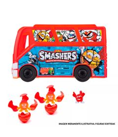 Kit-Playset-com-Estojo-e-Mini-Figuras-Surpresas---Smashers---Candide