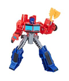 Figura-Transformers---Cyberverse-Warrior---Optimus-Prime---Hasbro