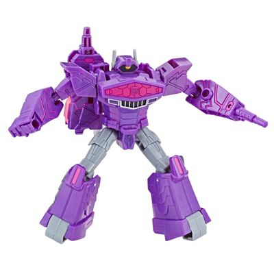 Figura-Transformers---Cyberverse-Warrior---Shockwave---Hasbro