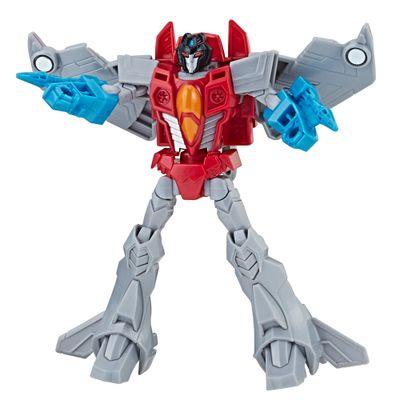 Figura-Transformers---Cyberverse-Warrior---Starscream---Hasbro