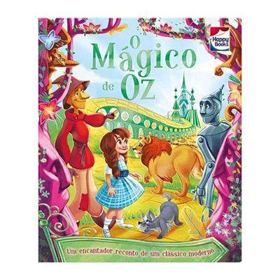 Livro-Infantil---Aventuras-Classicas---O-Magico-de-Oz---Happy-Books