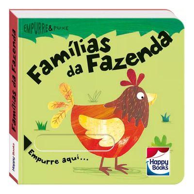 Livro-Infantil---Empurre-e-Puxe---Familias-da-Fazenda---Happy-Books