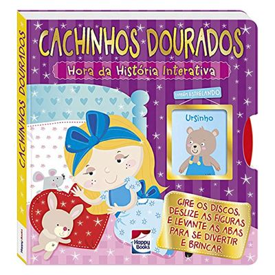 Livro-Infantil---Hora-da-Historia-Interativa---Cachinhos-Dourados---Happy-Books