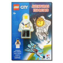 Livro-Infantil---LEGO-City---Aventuras-Espaciais---Happy-Books