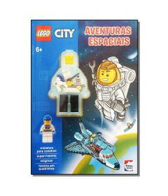 Livro-Infantil---LEGO-City---Aventuras-Espaciais---Happy-Books