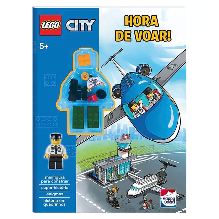 Livro-Infantil---LEGO-City---Hora-de-Voar---Happy-Books