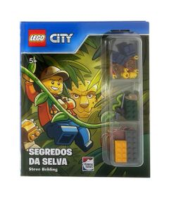 Livro-Infantil---LEGO-City---Segredos-da-Selva---Happy-Books