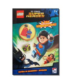 Livro-Infantil---LEGO---DC-Comics-Superheroes---A-Liga-Sobrenatural---Happy-Books