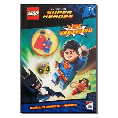 Livro-Infantil---LEGO---DC-Comics-Superheroes---A-Liga-Sobrenatural---Happy-Books