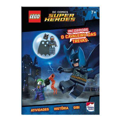 Livro-Infantil---LEGO---DC-Comics-Superheroes---Incorpore-o-Cavaleiro-das-Trevas---Happy-Books