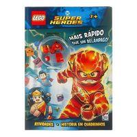 Livro-Infantil---LEGO---DC-Comics-Superheroes---Mais-Rapido-que-um-Relampago---Happy-Books