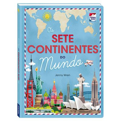 Livro-Infantil---Os-Sete-Continentes-do-Mundo---Happy-Books