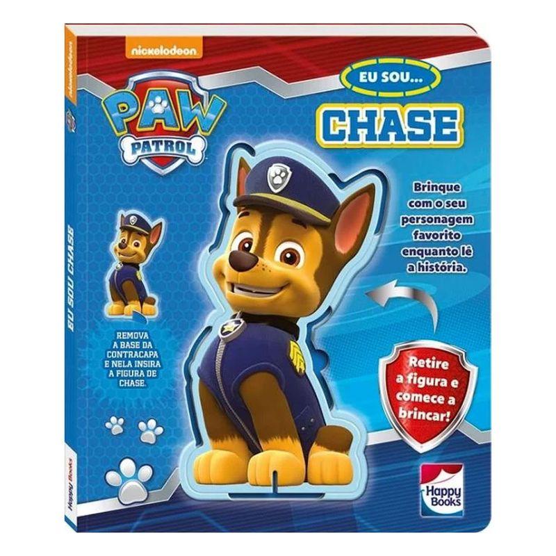 c4a180813cb Livro Infantil - Patrulha Canina - Eu Sou... Chase - Happy Books - Ri Happy  Brinquedos