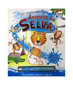 Livro-Infantil---Pintando-com-Agua---Animais-da-Selva---Happy-Books
