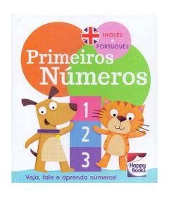 Livro-Infantil---Vamos-aprender---Ingles-e-Portugues---Primeiros-Numeros---Happy-Books