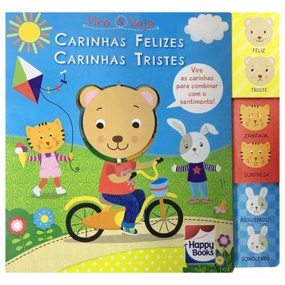 Livro-Infantil---Vire-e-Veja---Carinhas-Felizes-Carinhas-Tristes---Happy-Books