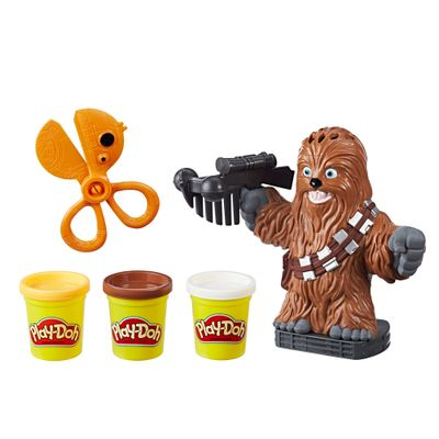 Massa-de-Modelar---Play-Doh---Disney---Star-Wars---Chewbacca---Hasbro