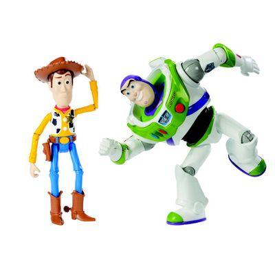 Conjunto-de-Figuras---18-Cm---Disney---Pixar---Toy-Story---Woody-e-Buzz---Fisher-Price
