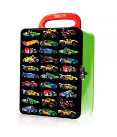 Maleta-Hot-Wheels-Porta-Carrinhos---Verde---Intek