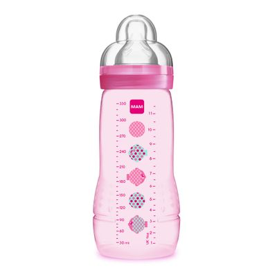 Mamadeira-Fashion-Bottle-Girls-330-ml---Rosa---Peixinhos---MAM