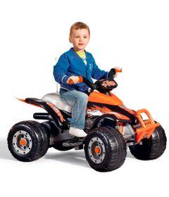 Quadriciclo-Eletrico---12-V---Corral-T-Rex---Arancio---Peg-Perego