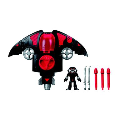 Veiculo-e-Figura---Imaginext---DC-Comics---Black-Manta-e-Sub---Fisher-Price