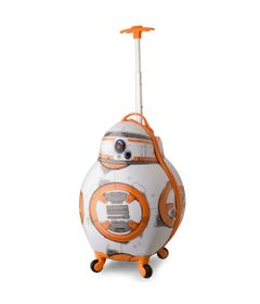 Mala-Decorativa-3D---Disney---Star-Wars---BB-8---Bagaggio