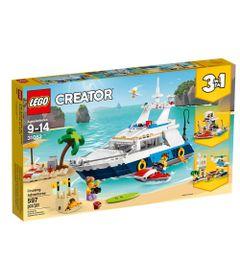 LEGO-Creator---Cruzeiro-de-Aventuras---3-em-1---31083