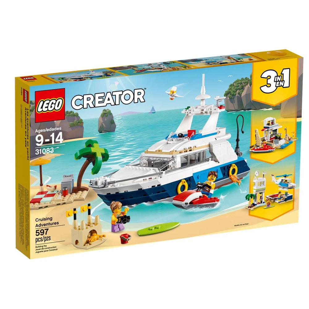 LEGO Creator - Cruzeiro de Aventuras - 3 em 1 - 31083