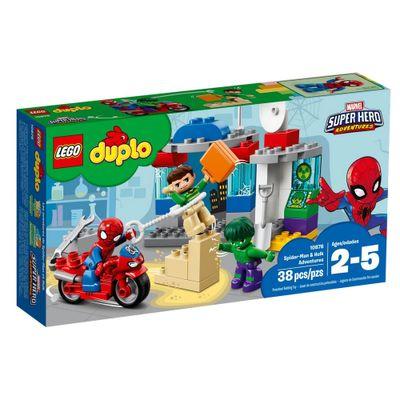 LEGO-DUPLO---Marvel-Super-Hero-Adventure---Spider-Man-e-Hulk---10881