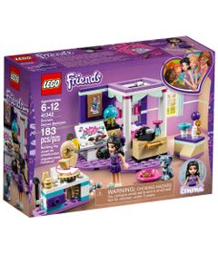 LEGO-Friends---Quarto-da-Emma---Deluxe---41342