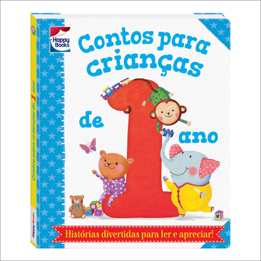 Livro Infantil - Contos Para Crianças - 1 Ano - Happy Books