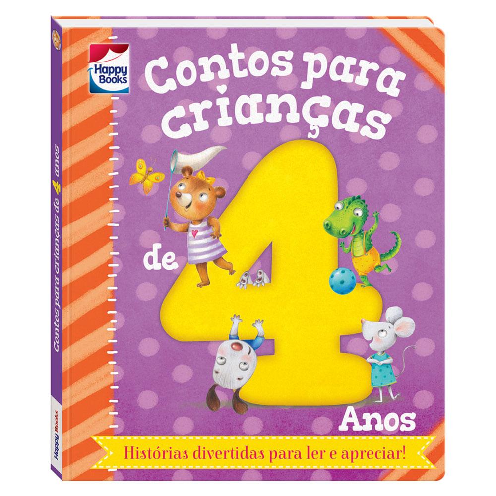 Livro Infantil - Contos Para Crianças - 4 Anos - Happy Books