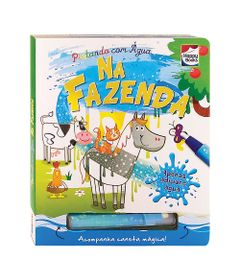 Livro-Infantil---Pintando-com-Agua---Na-Fazenda---Happy-Books
