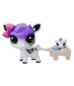 Mini-Figura---Littlest-Pet-Shop---Dupla-Especial---Plumella-Cowbelle-e-Calla-Cowbelle---Hasbro