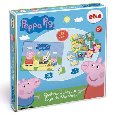 Quebra-Cabeca-e-Jogo-da-Memoria---Peppa-Pig---Elka