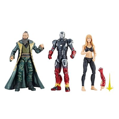 Conjunto-de-Figuras-Articuladas---26-Cm---Disney---Marvel-Studios---10-Anos---Iron-Man-3---Hasbro