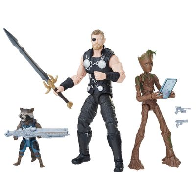 Conjunto-de-Figuras-Articuladas---Disney---Marvel-Legends---Vingadores---Guerra-Infinita---Hasbro