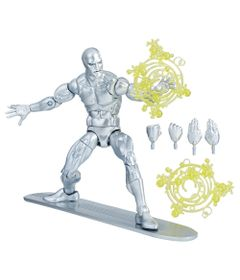 Figura-Articulada---26-Cm---Legends-Series---Marvel---Surfista-Prateado---Hasbro