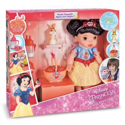 Boneca-de-Vinil---30-Cm---Disney-Baby---Branca-de-Neve---Mimo