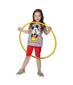 Blusa-Manga-Curta---Meia-Malha---Cinza-Mescla---Mickey-Mouse---Disney---8