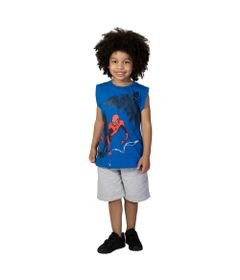 Camiseta-Machao---Meia-Malha---Azul-Royal---Silk---Marvel---Spider-Man---Disney---4